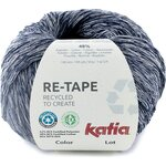 Katia Re-Tape 205 tummansininen