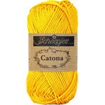 Scheepjes Catona 25g 208 yellow gold